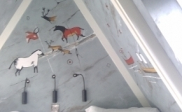 Cave painting room