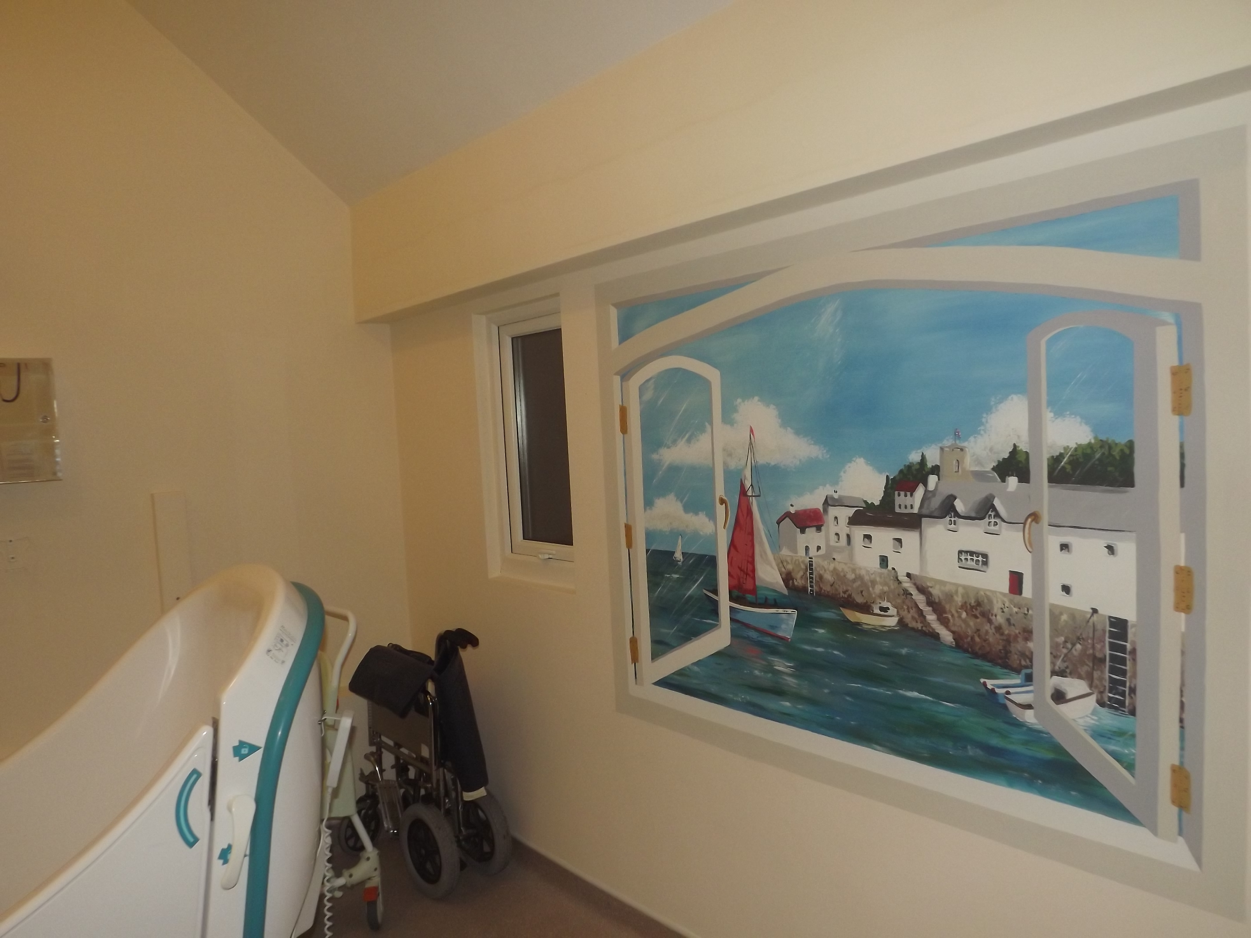 Murals For Care And Nursing Homes Are Great For Dementia Sufferers