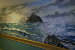 Mural of St. Michael's Mount