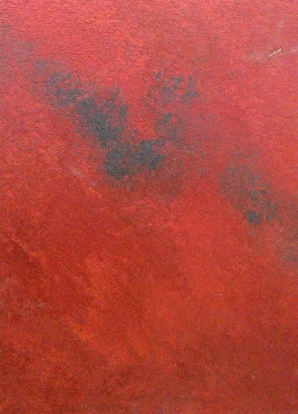 Marmorino stone effect red