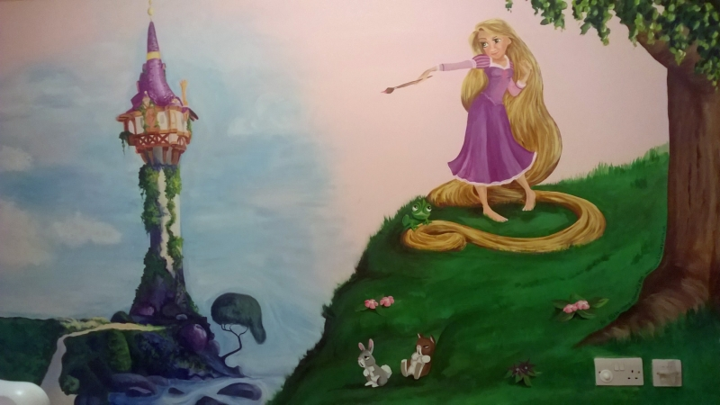 Murals For Girls Bedrooms A Beautiful Way To Decorate For