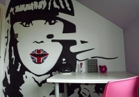 Jessie j teenage girls mural