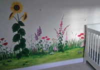 Summer meadow girls room