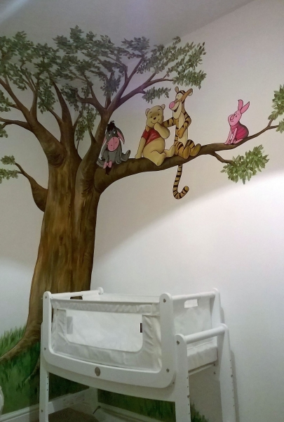 Nursery Murals The Perfect Way Of Decorating A Babies Nursery