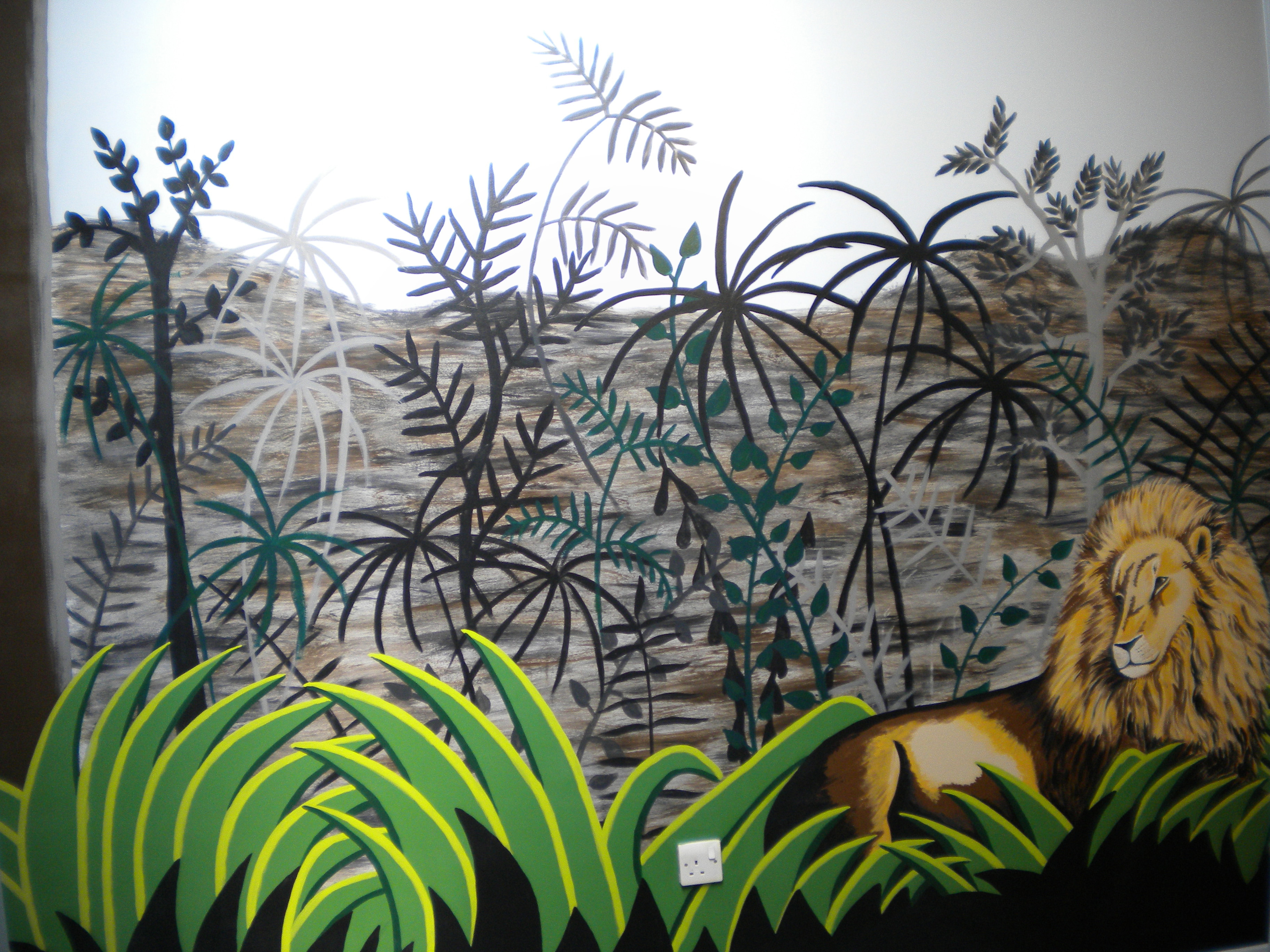 Educational murals for schools and day nurseries for Educational mural