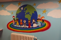 Diversity and Inclusion mural