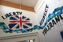 British Value mural