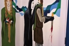 Macbeth mural