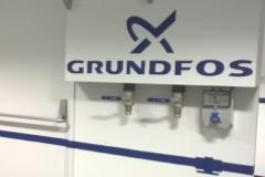 Grundfos sign