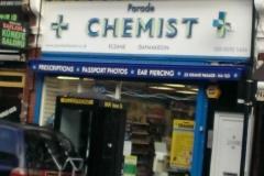 Chemist sign