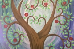 Rememberance tree canvas
