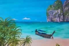 Thai island scene