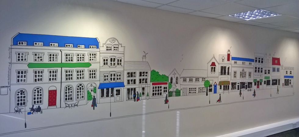 High Street Mural for the Retail Ombudsman