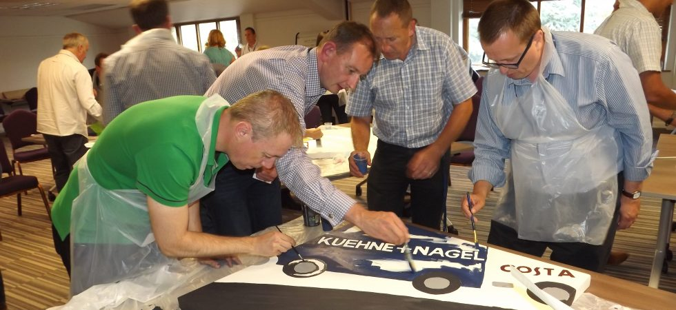 Kuehne and Nagel workshop for their senior managers