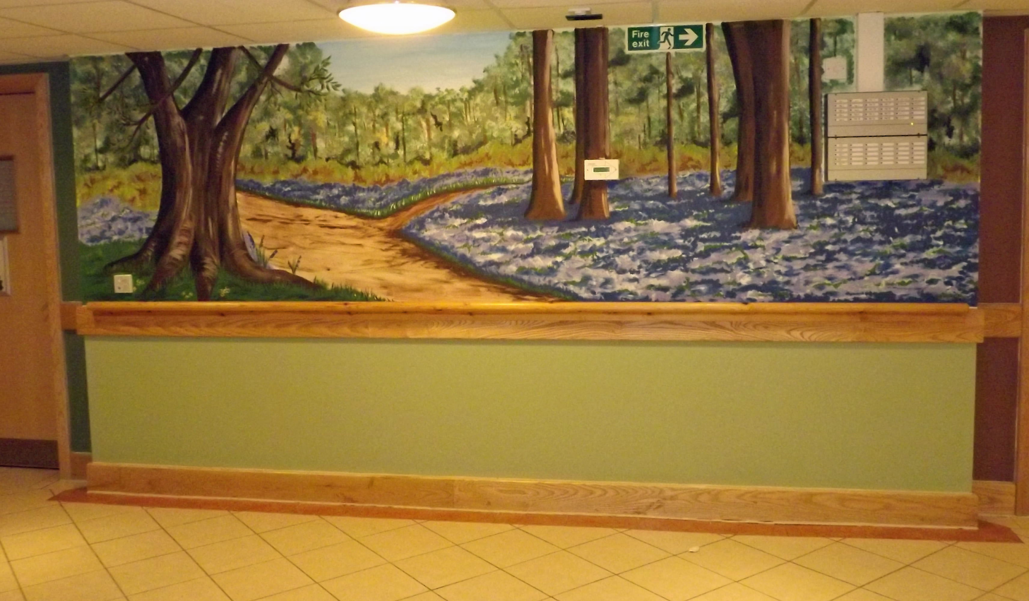 Murals For Care And Nursing Homes Are Great For Dementia