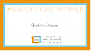 Theo Paphitis SBS Winners badge