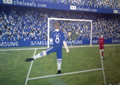 Chelsea Football mural
