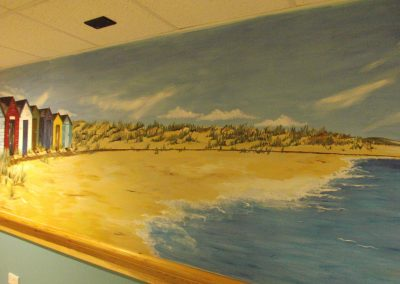 Suffolk beach mural