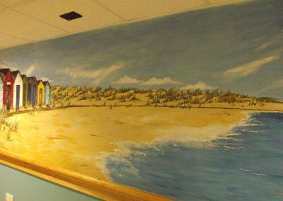 Suffolk beach mural