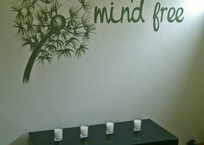 Image of hypnotherapist office sign