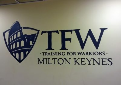 Image of TFW gym sign