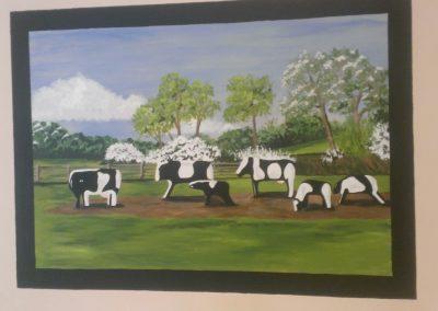 Image of Milton Keynes Concrete cows mural