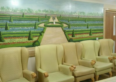Care home sitting room