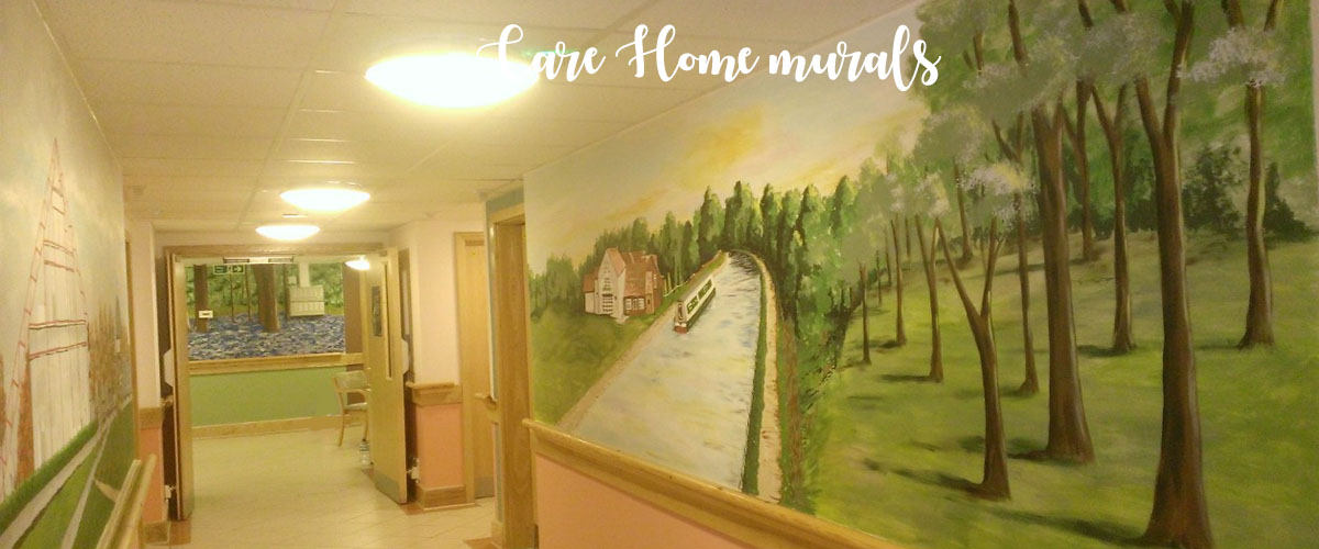 Murals In Care And Nursing Homes Help Mental Well Being