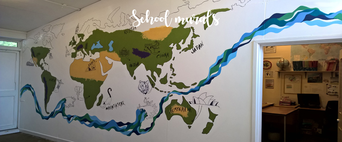 Educational Murals For Schools Colleges And Day Nurseries