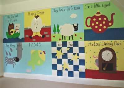 Patchwork nursery