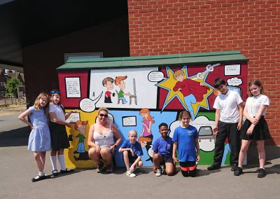 Esafety mural project