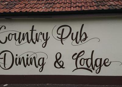 Image of Pub sign