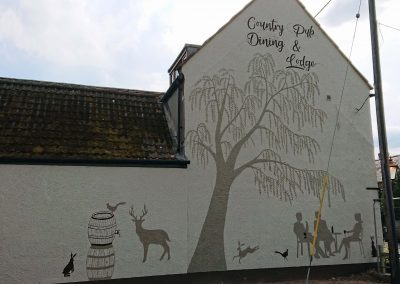 Image of pub mural