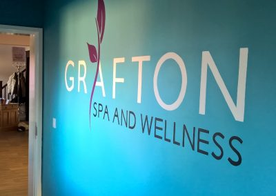 Grafton Spa hand painted sign