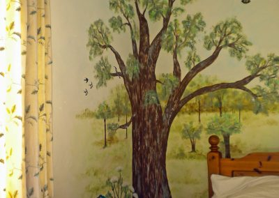 Woodland mural
