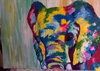 Image of Elephant painting