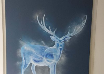 stag petronas wall art