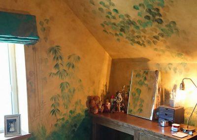 Image of tropical mural