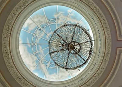 Clouded ceiling mural for Gleneagles hotel