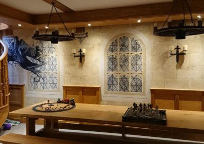 Hogwarts Great Hall mural