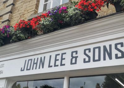 John Lee and Sons sign