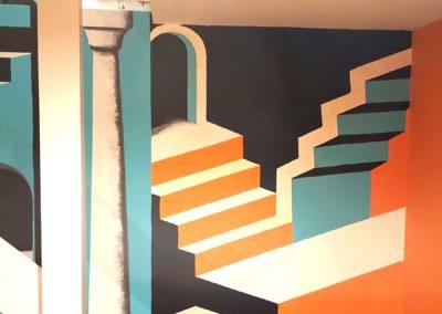 Escher mural