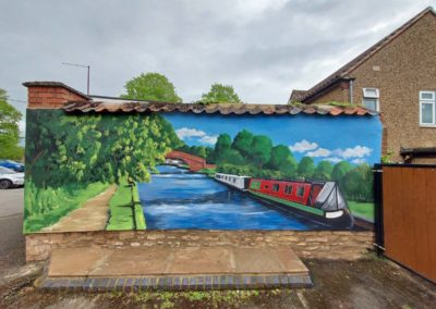 Forresters ARms pub mural